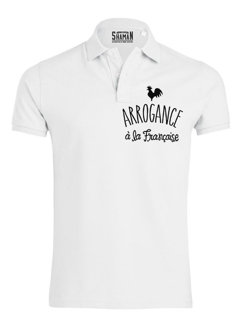 """Polo """"Arrogance à la Française"""""""