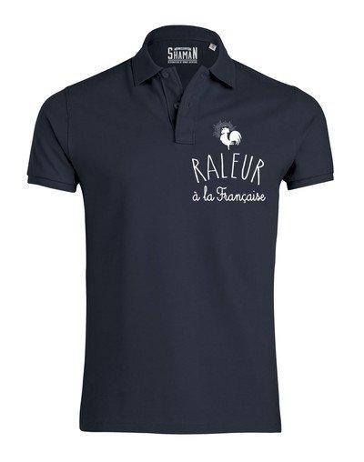 """Polo """"Râleur à la française"""""""