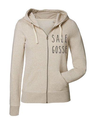 """Sweat zippé """"Sale Gosse"""""""