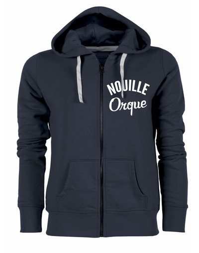 "Sweat zippé ""Nouille Orque"""