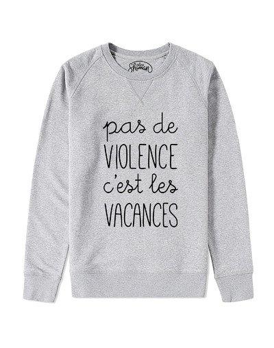 """Sweat """"Pas de violence"""""""