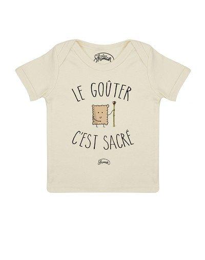 Tee shirt Le goûter c'est la vie