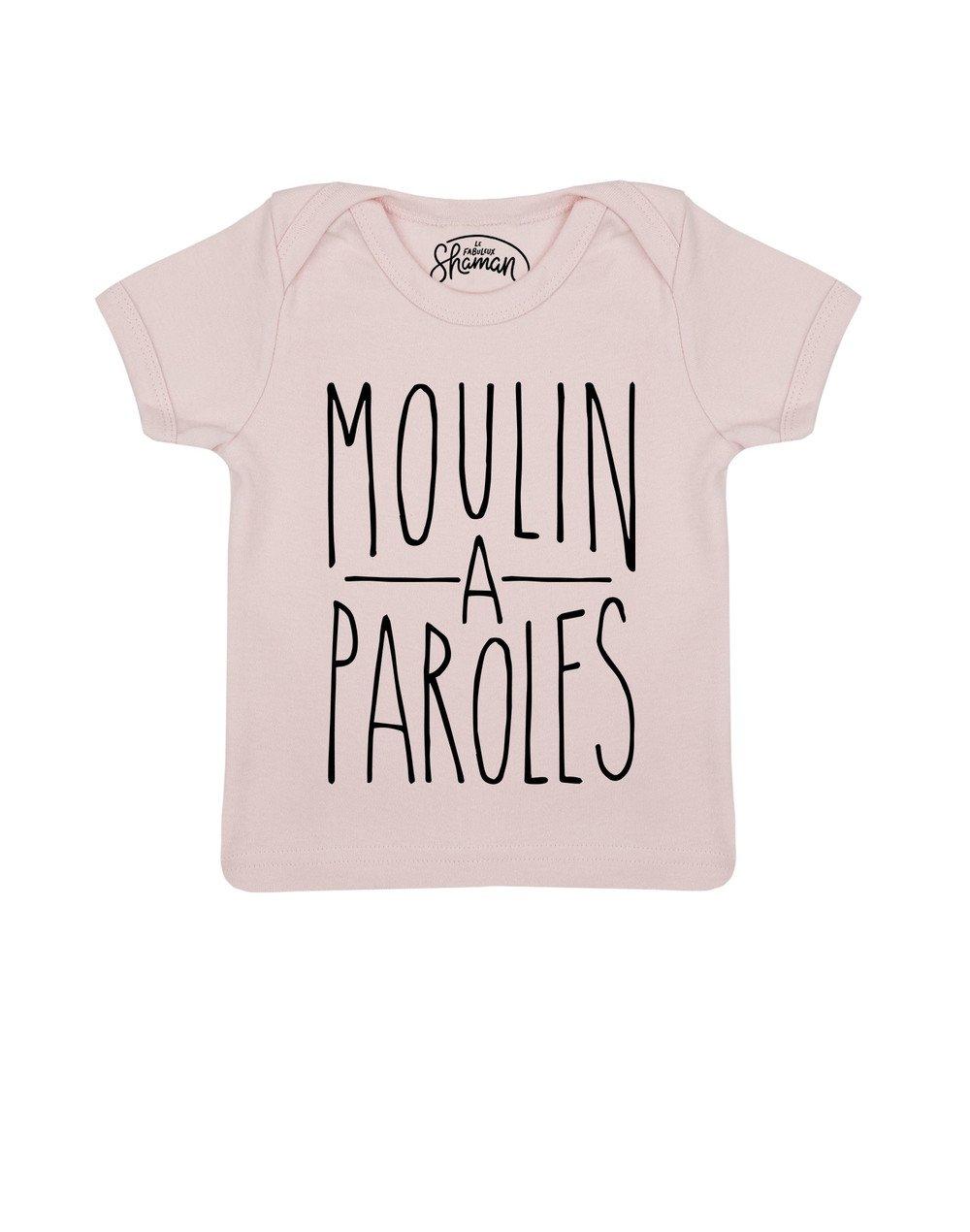 Tee shirt Moulin à paroles