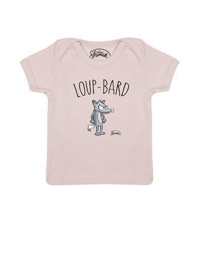 Tee shirt Loup bard