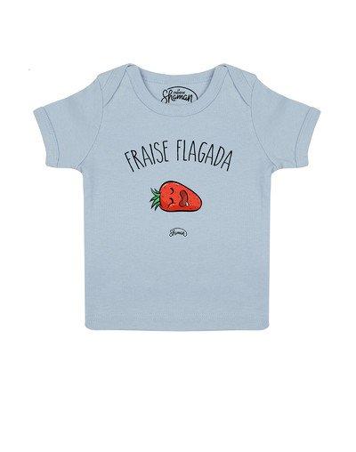 Tee shirt Fraise flagada