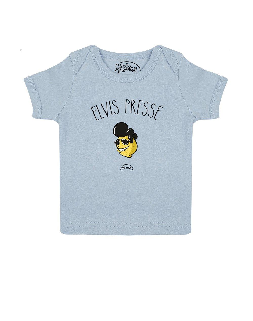 Tee shirt Elvis pressé