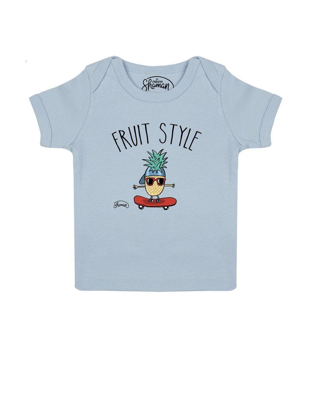 Tee shirt Fruit style