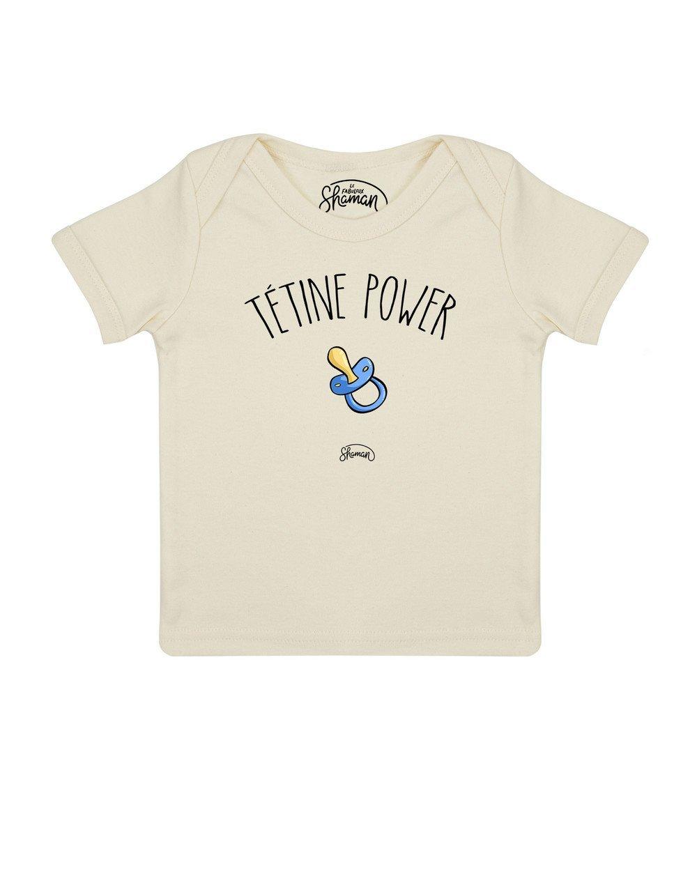 Tee shirt Tétine power