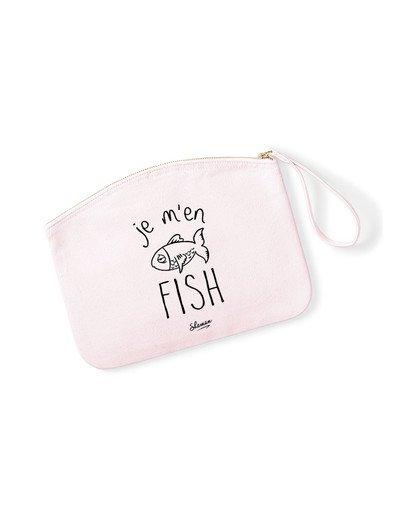 "Pochette ""Je m'en fish"""