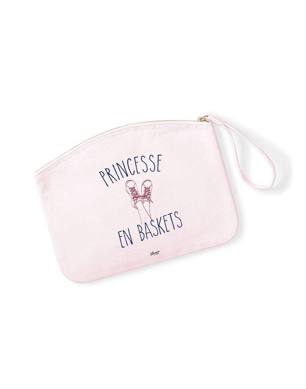 "Pochette ""Princesse en baskets"""
