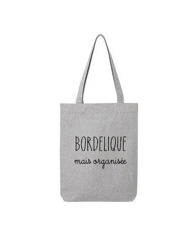 "Tote Bag ""Bordélique"""