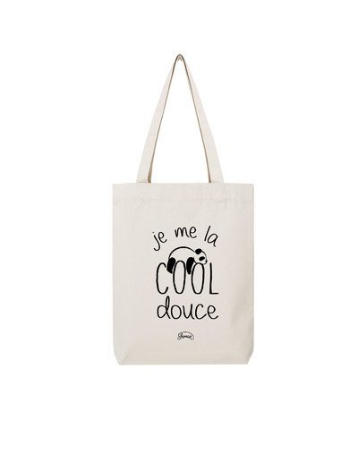 """Tote Bag """"Cool douce"""""""