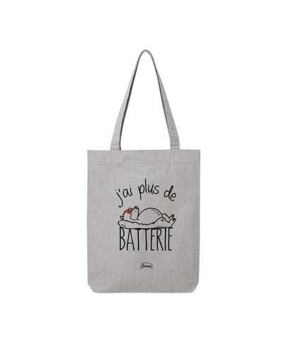 "Tote Bag ""Batterie"""