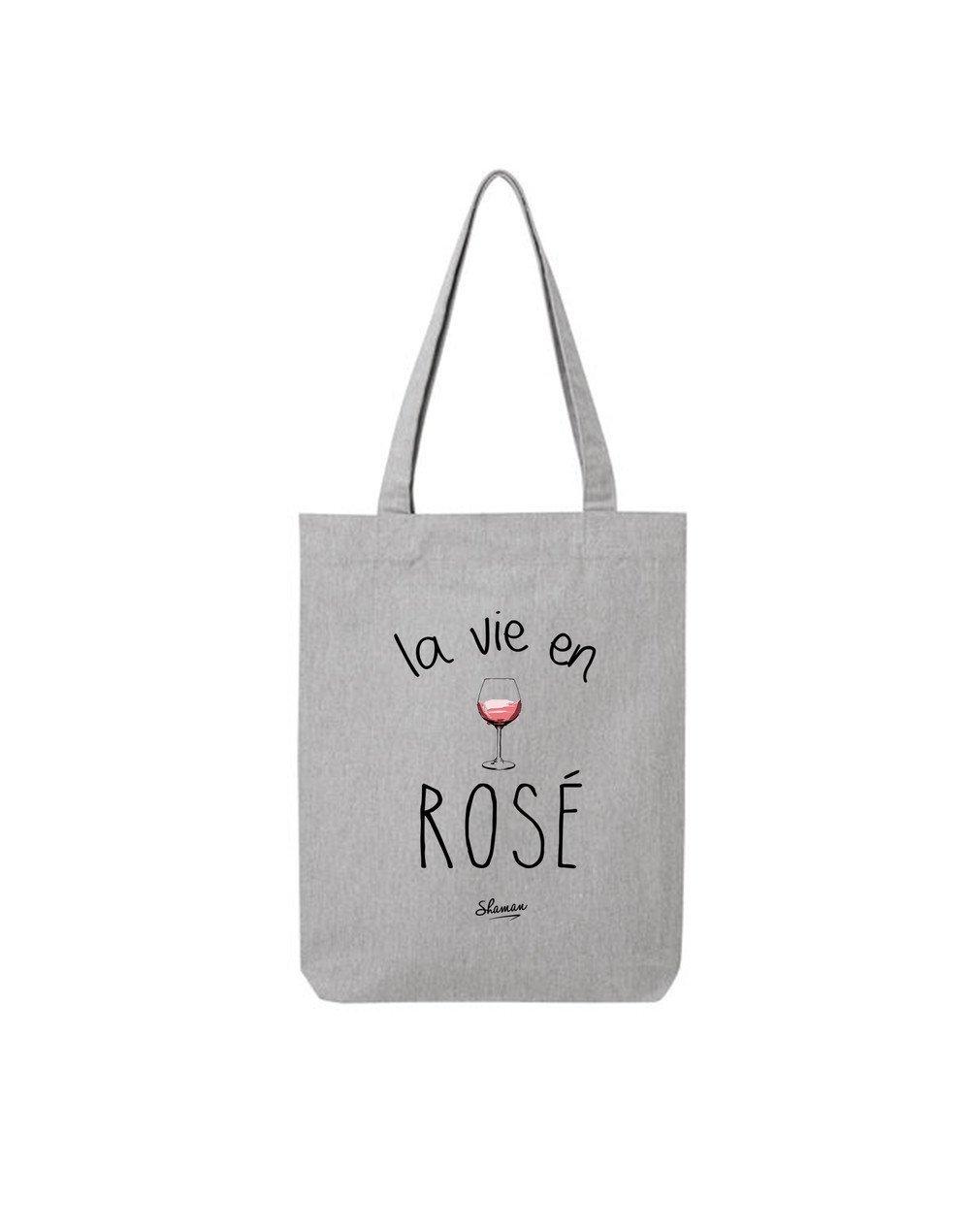 """Tote Bag """"la vie en rosé"""""""