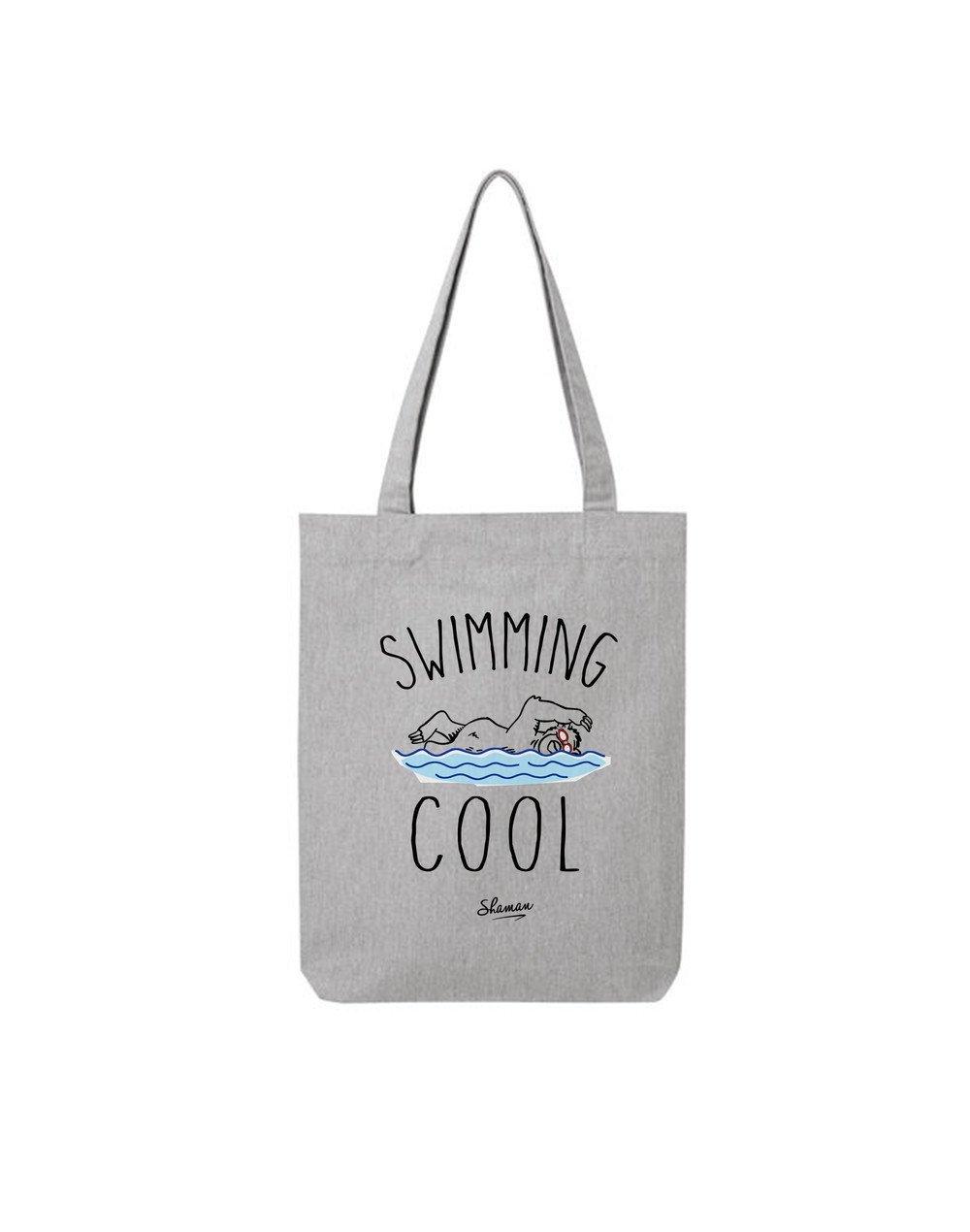 """Tote Bag """"Swimming cool"""""""