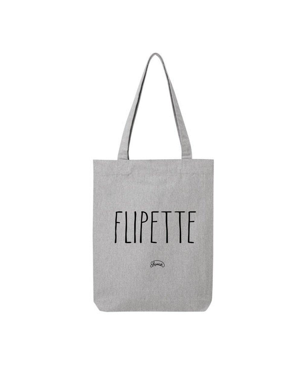 """Tote Bag """"Flipette"""""""