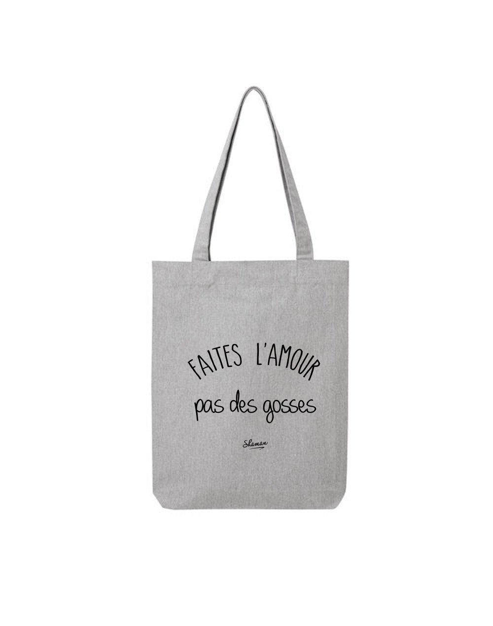 "Tote Bag ""Faites l'amour"""