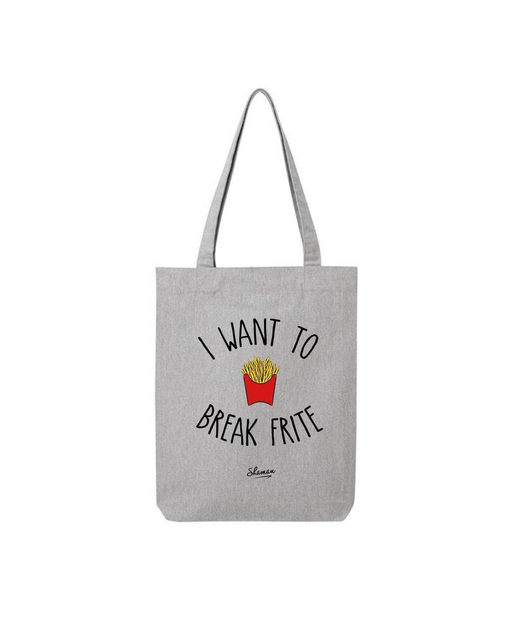 """Tote Bag """"Break Frite"""""""