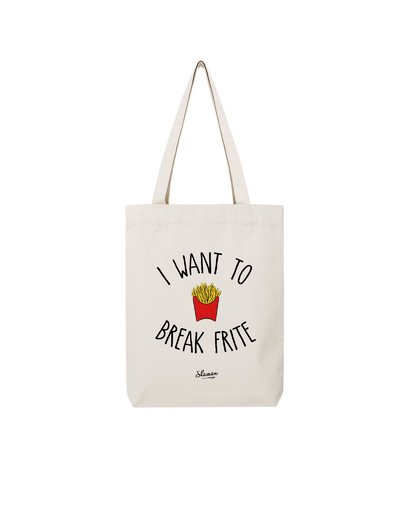 "Tote Bag ""Break Frite"""