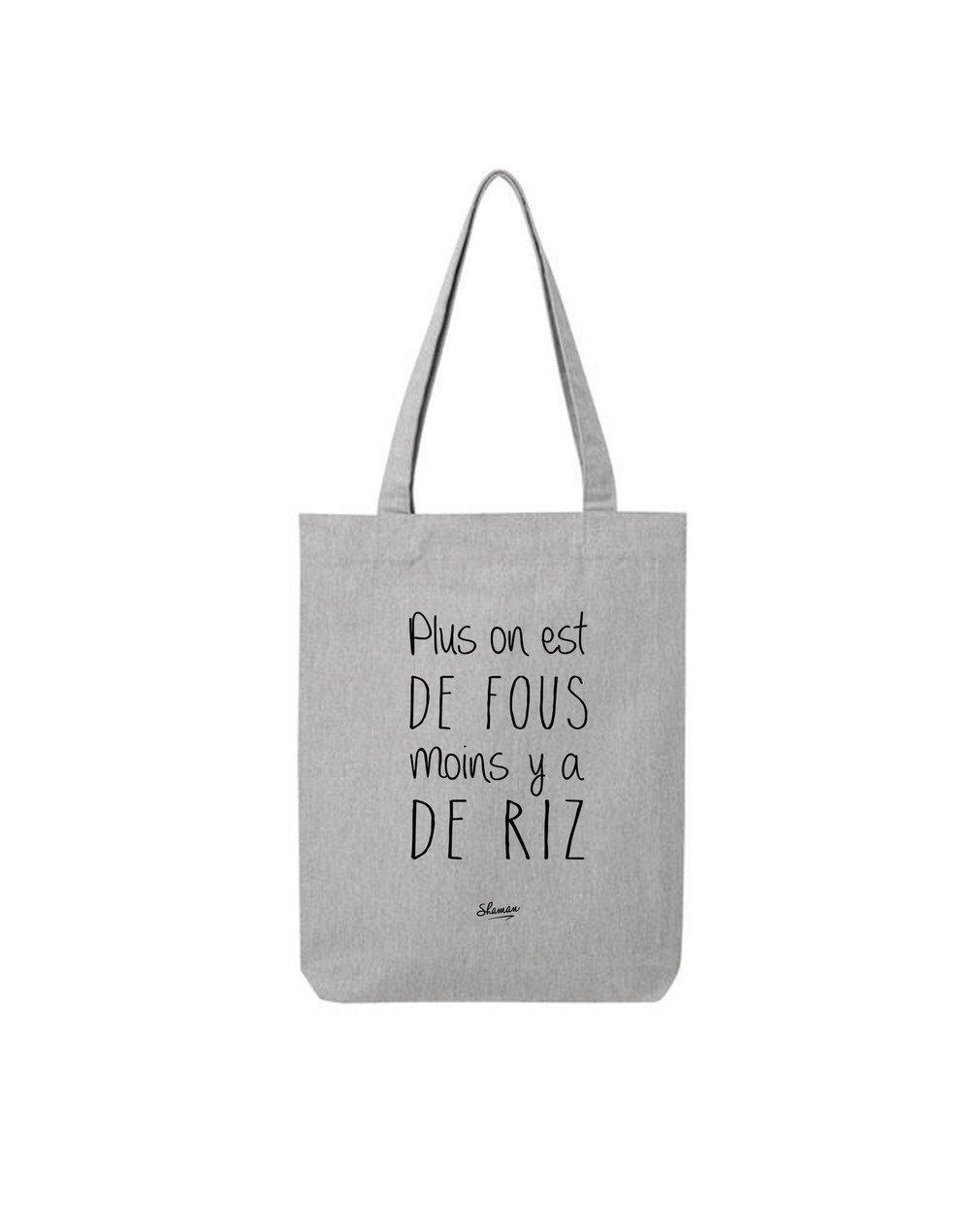 """Tote Bag """"Plus on est"""""""