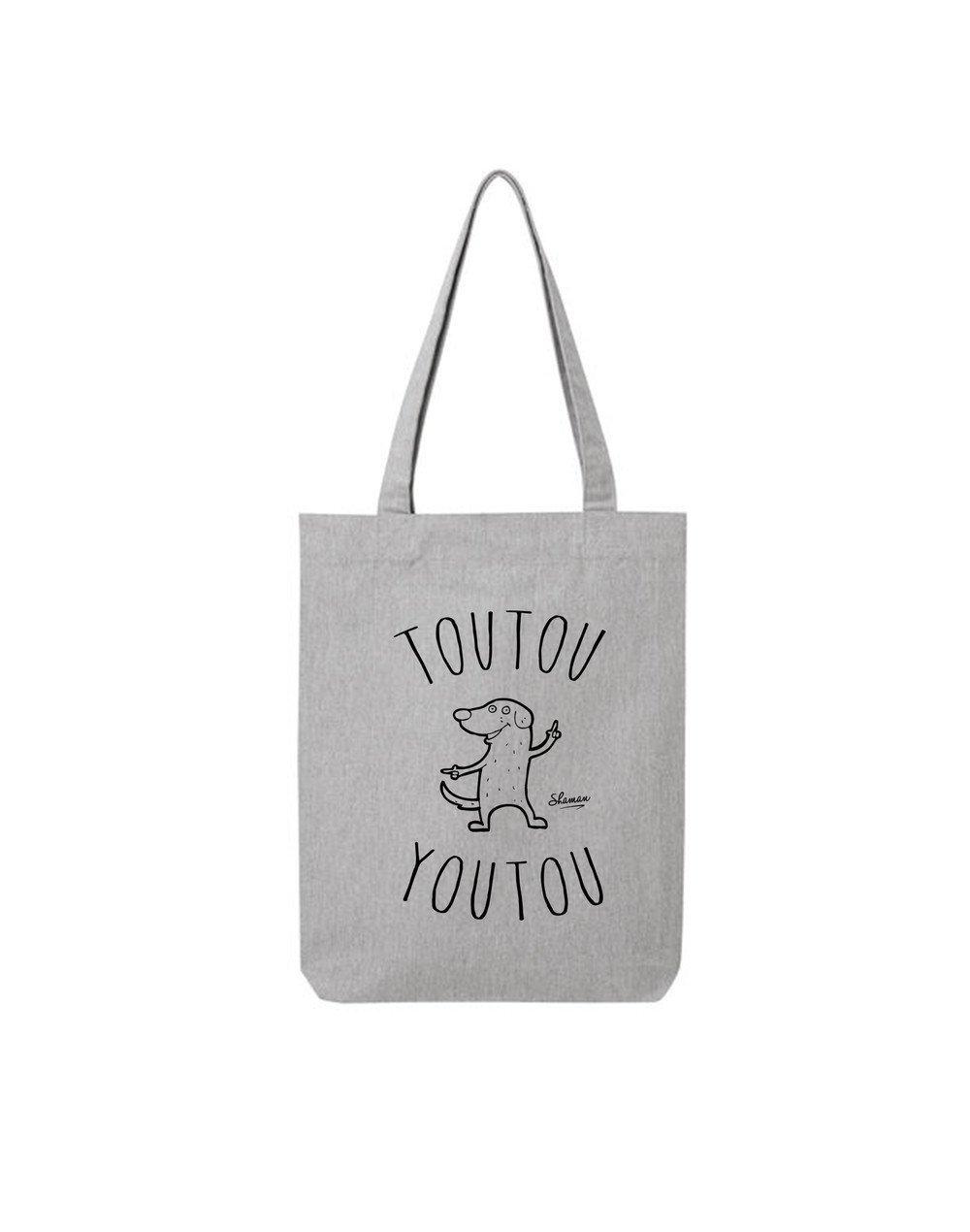 "Tote Bag ""Toutou Youtou"""