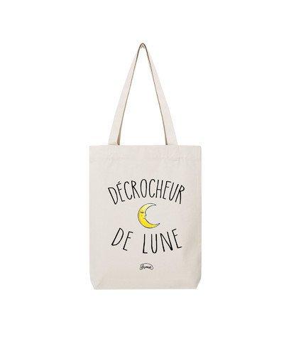 """Tote Bag """"Décrocheur de lune"""""""