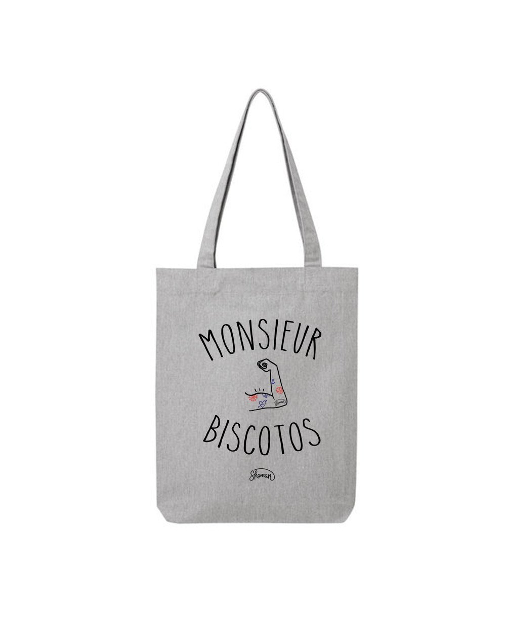 "Tote Bag ""Monsieur biscotos"""