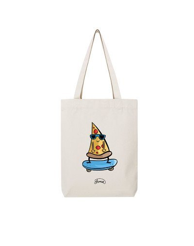 "Tote Bag ""Pizza skate"""