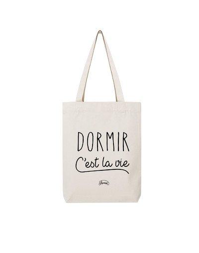 """Tote Bag """"Dormir c'est la vie"""""""