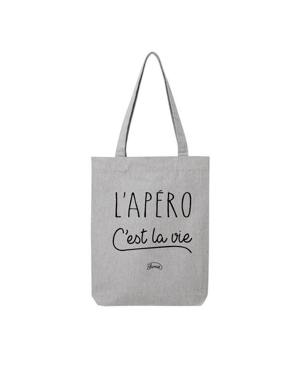 "Tote Bag ""L'apero c'est la vie """