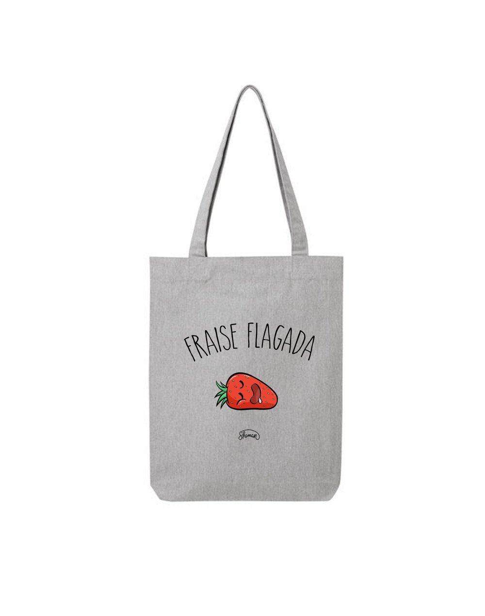 """Tote Bag """"Fraise flagada"""""""