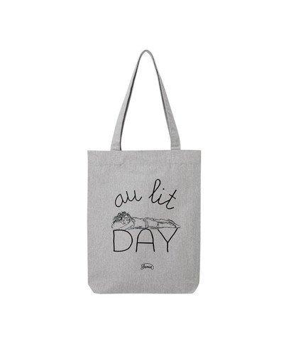 "Tote Bag ""Au lit day"""