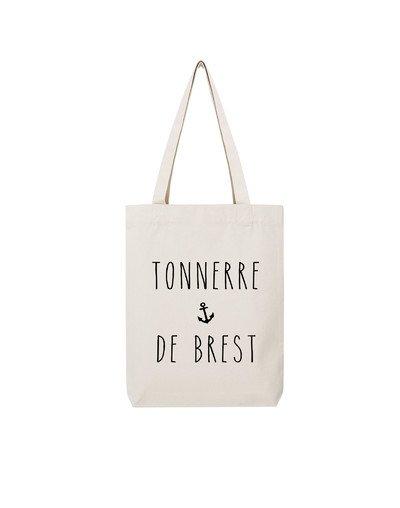 """Tote Bag """"Tonnerre de Brest"""""""