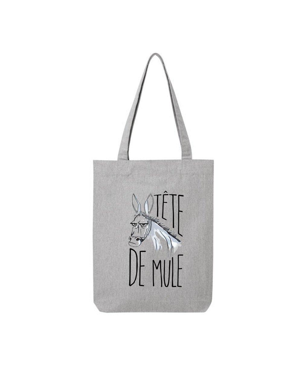 """Tote Bag """"Tête de Mule"""""""
