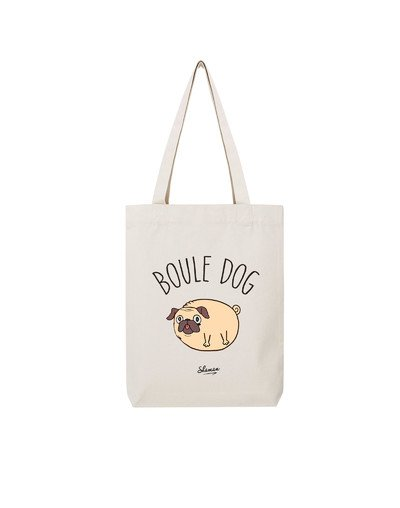"Tote Bag ""Boule dog"""
