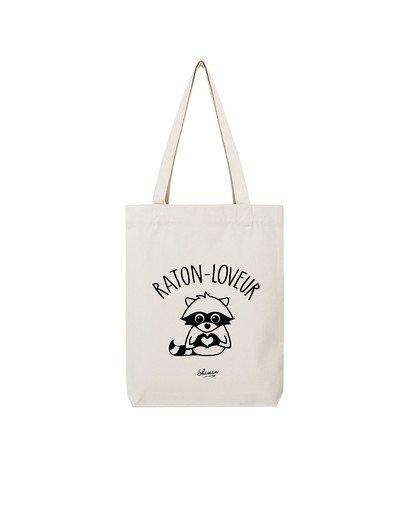 """Tote Bag """"Raton loveur"""""""