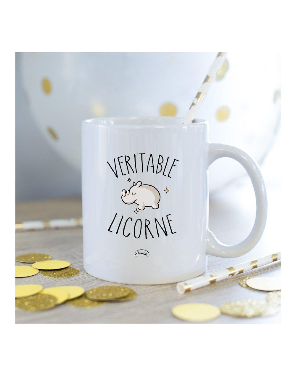 Mug Véritable licorne