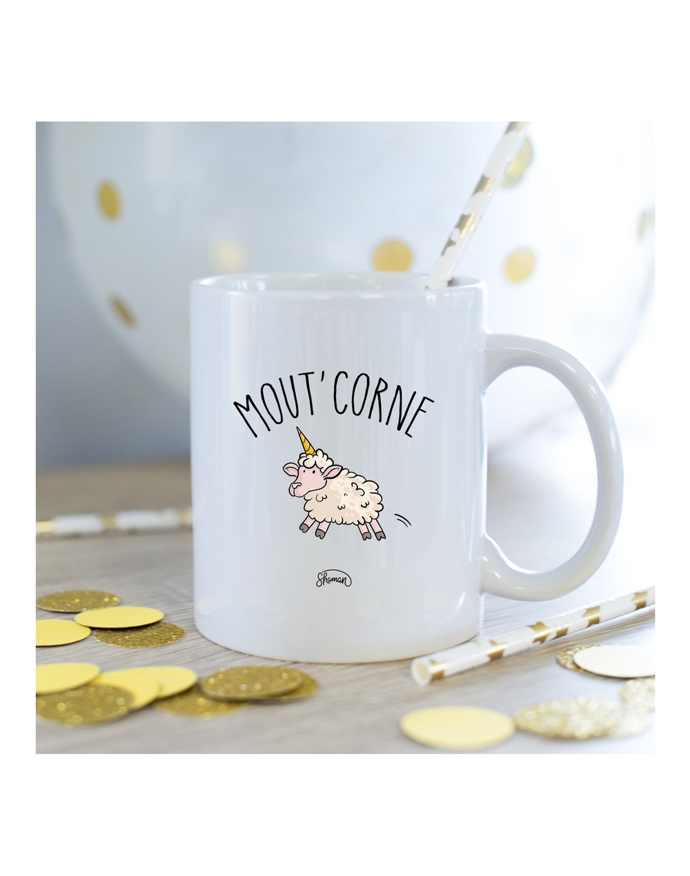Mug Mout corne