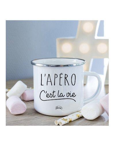 Mug L'apéro c'est la vie