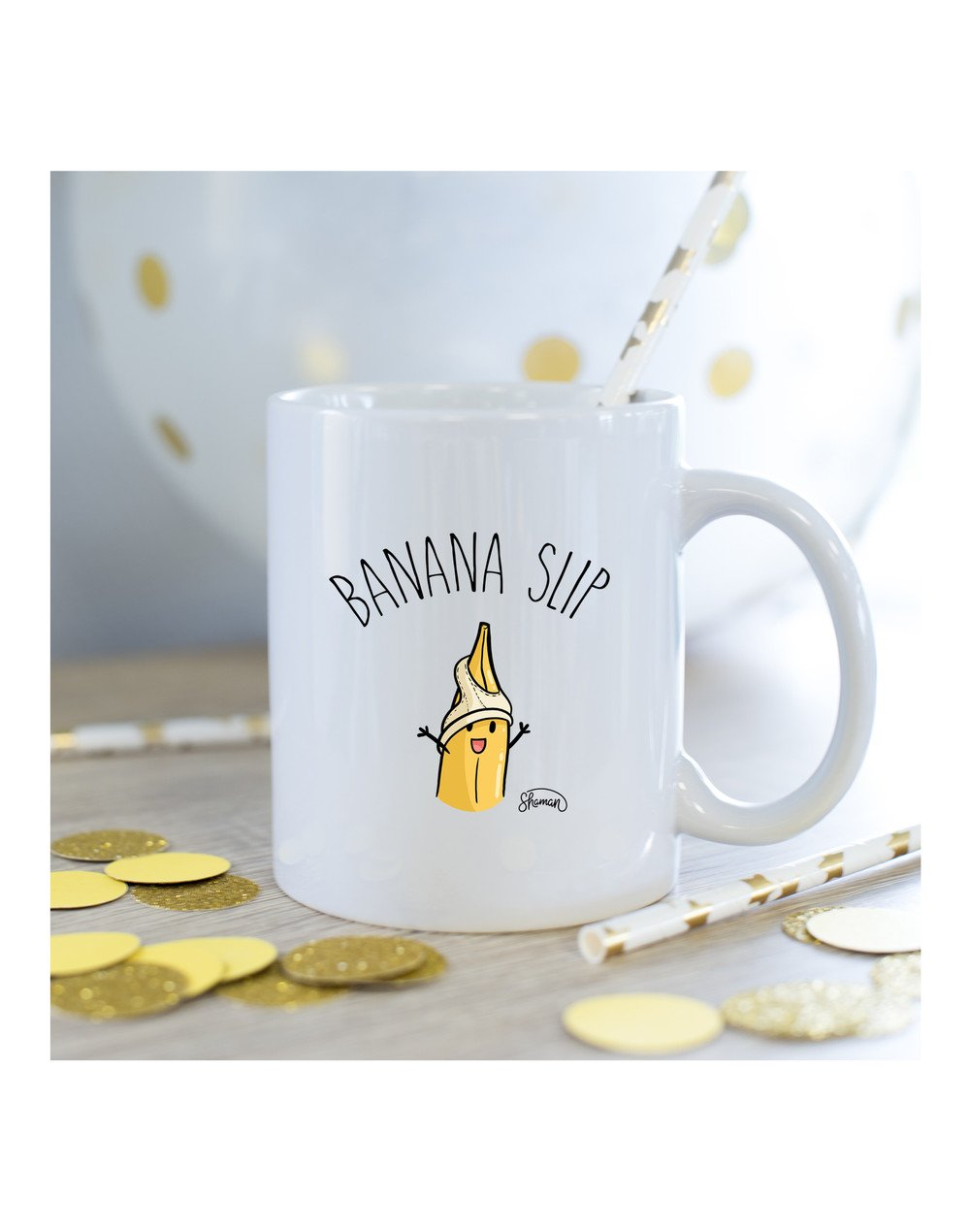 Mug Banana slip