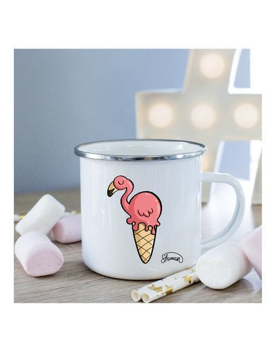 Mug Flamant ice