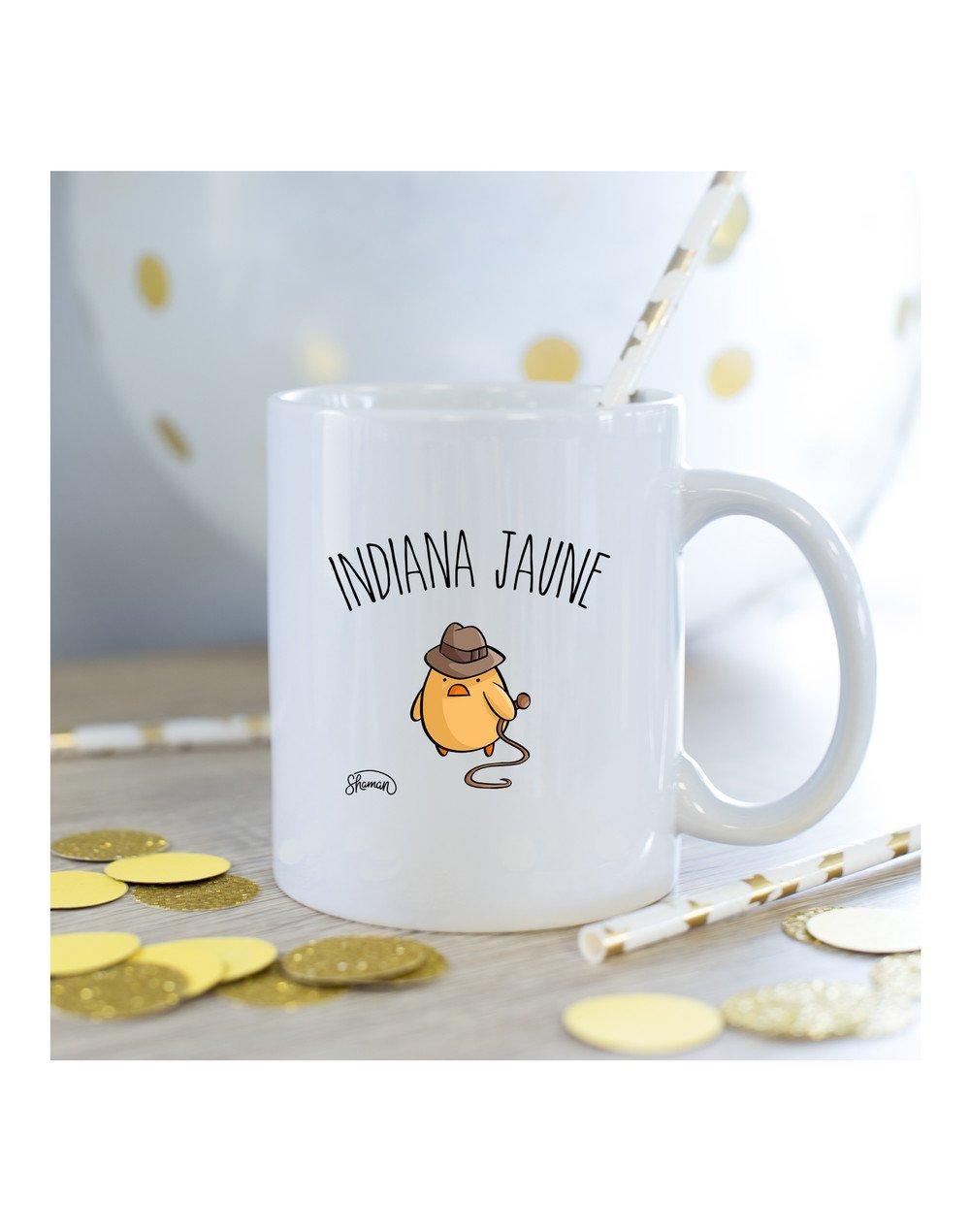 Mug indiana jaune