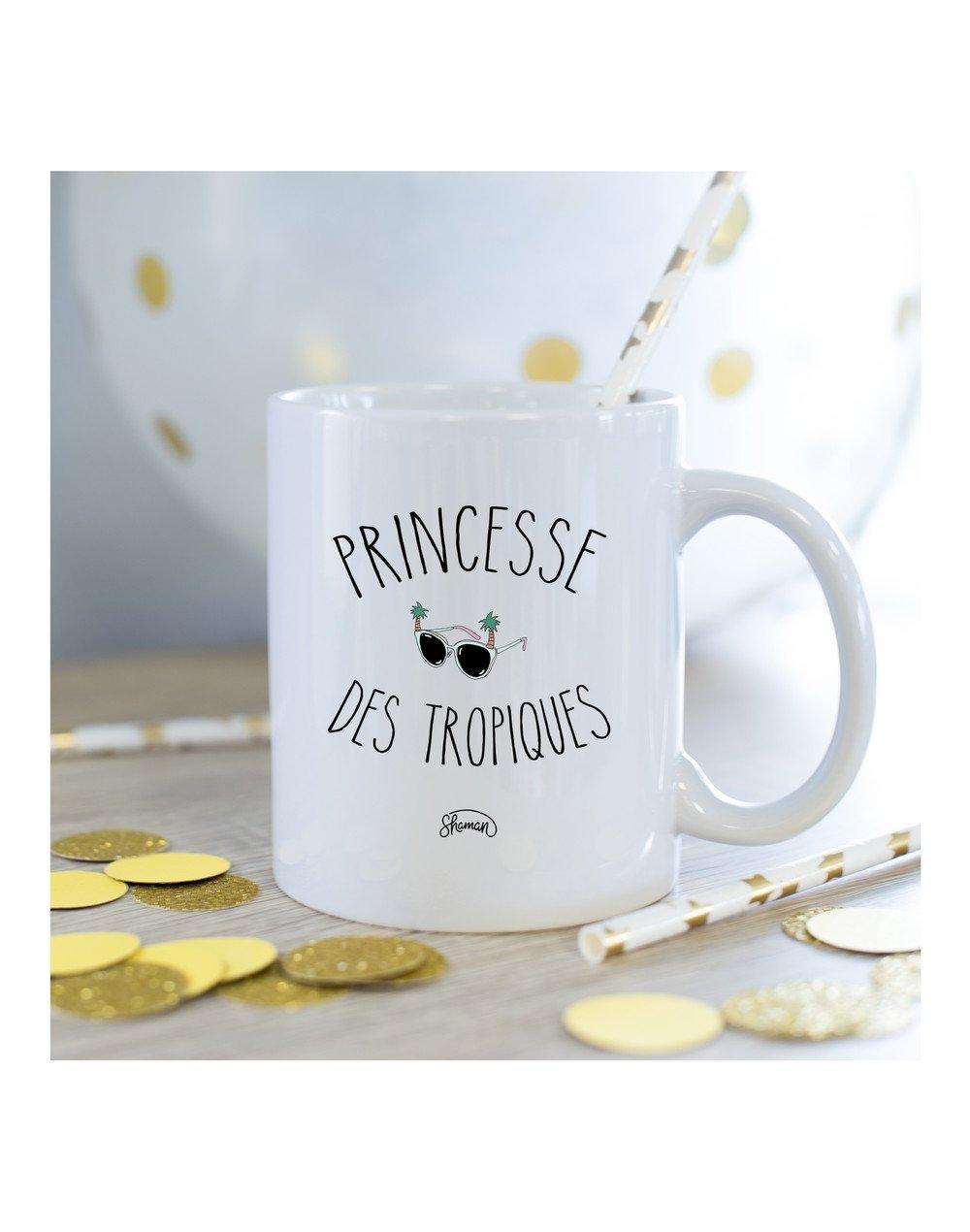 Mug princesse des tropiques