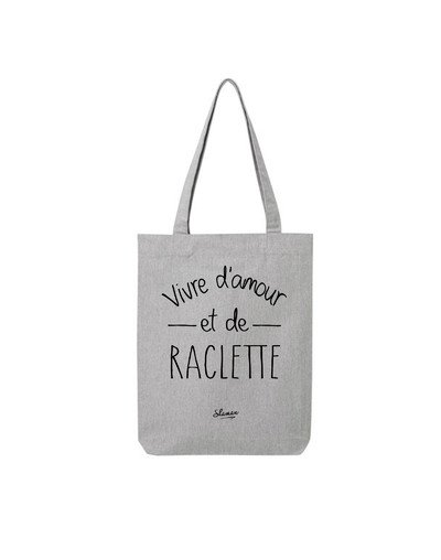 "Tote Bag ""Amour raclette"""