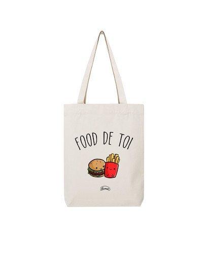 "Tote Bag ""Food de toi"""