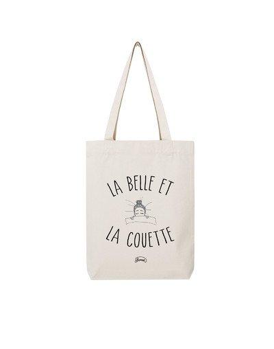 "Tote Bag ""La belle couette"""
