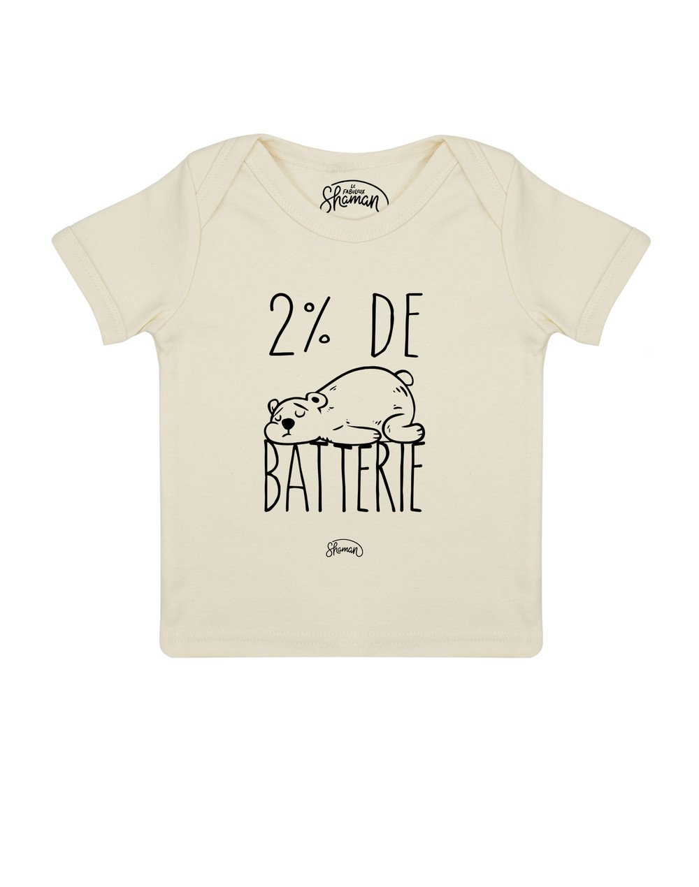 Tee shirt Batterie 2%