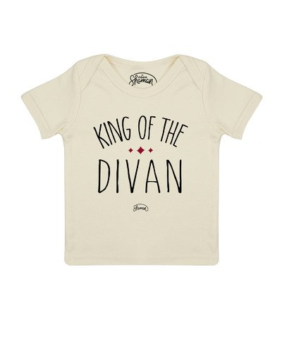 Tee shirt King of the divan