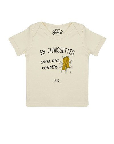 Tee shirt Chaussette couette