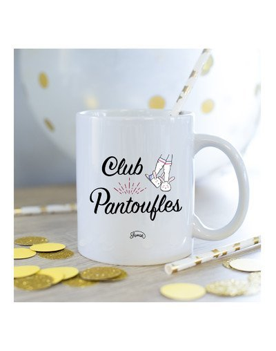 Mug Club pantoufles
